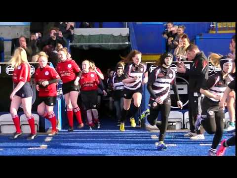 Rhondda Girls Rugby U15's v Winscombe 1