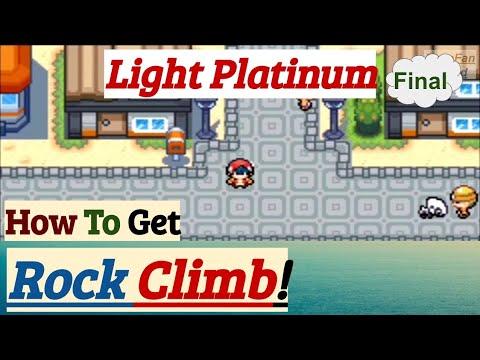 How To Get Rock Climb   Pokemon Light Platinum   GBA Rom Hack