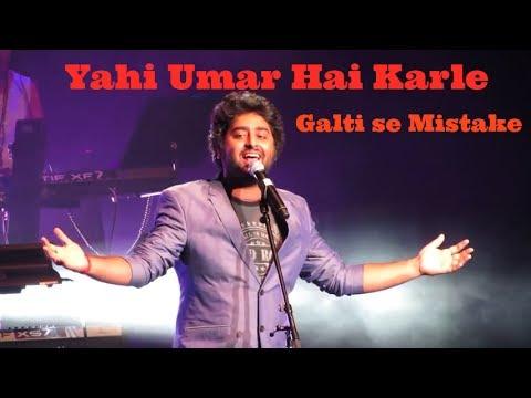 Arijit Singh Live Galti se mistake from Jagga Jasoos and Zalima Live | #LoveArijit