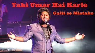 Arijit Singh Live Galti se mistake from Jagga Jasoos