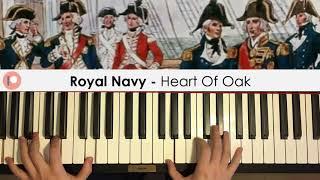 Royal Navy - Heart Of Oak (Piano Cover)   Patreon Dedication #426