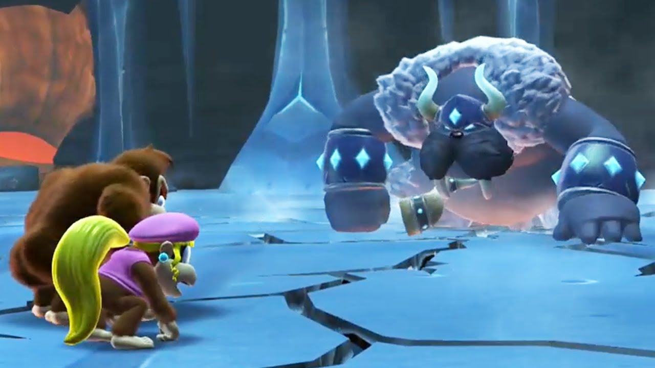 Donkey Kong Country: Tropical Freeze - All Boss Fights (No ...