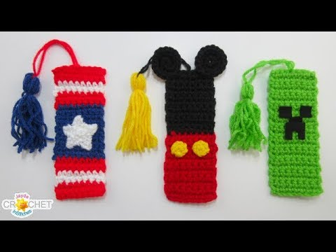 3 Playful Back To School Bookmarks