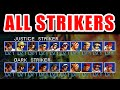 ALL STRIKERS(JUSTICE/DARK) - THE KING OF FIGHTERS '99 EVOLUTION