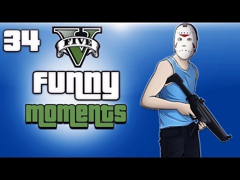 GTA 5 Online Funny Moments Ep. 34 (Teddy...