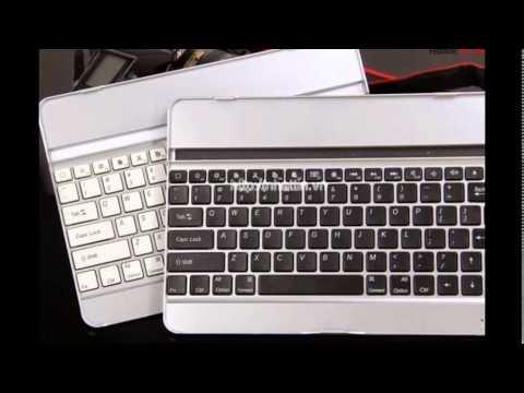 Chuyên sỉ lẻ bàn phím không dây dành cho ipad 2/3/4/5 ipad air màu sliver bạc