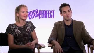 Skylar Astin  Anna Camp Pitch Perfect Interview%21
