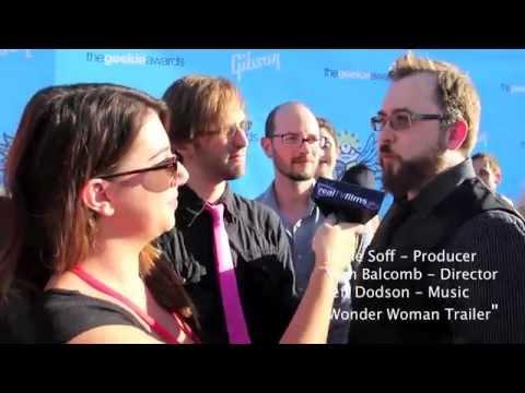 Jesse Soff,  Sam Balcomb, Jeff Dodson, The Geekie Awards, Wonder Woman Trailer