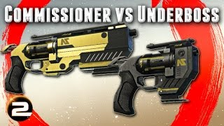 Commissioner versus Underboss - PlanetSide 2 Weapon Review