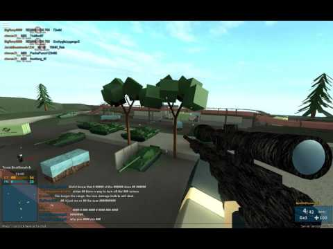 Phantom Forces I sniped someone from 1 foot lol