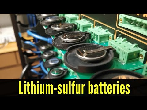 Lithium-sulfur batteries take major step toward commercial viability