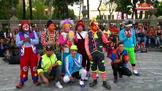 Los mejores Payasos de la Ciudad de Mexico Festejando el día del Payaso 4K