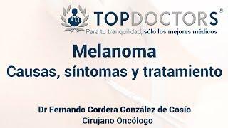 De síntomas melanomas corporales