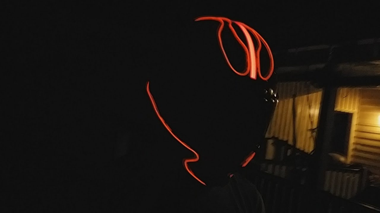 Make Your Own Tron Motorcycle Helmet Youtube