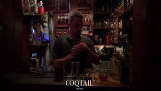 Ricetta Cocktail - 21 Century Coqtail di Flavio Angiolillo al Backdoor 43