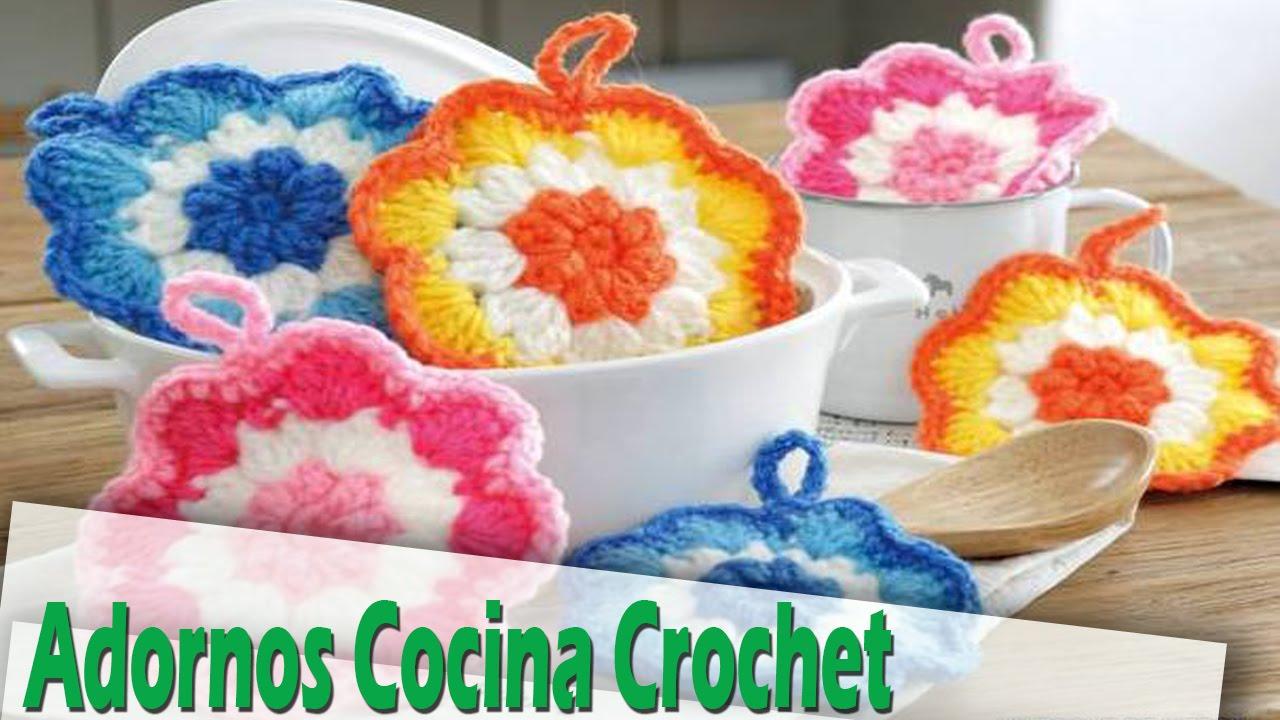 adornos de cocina tejidos a crochet ideas e imagenes youtube