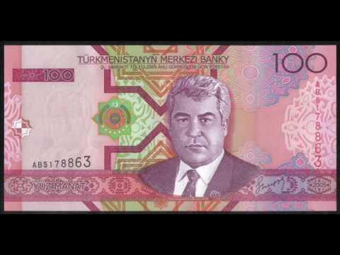 TURKMENISTAN BANKNOTES. (ASIA).