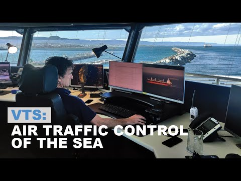 VTS: air traffic control of the sea