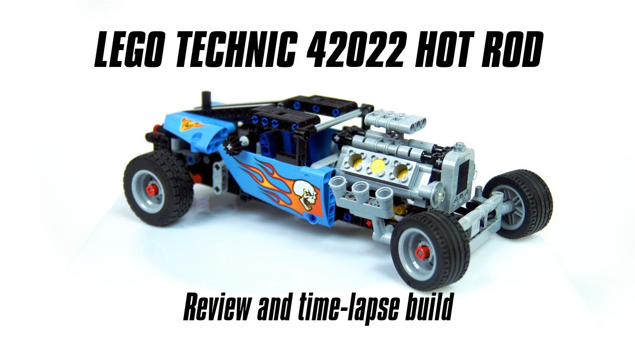 lego technic 42022 hot rod build review youtube. Black Bedroom Furniture Sets. Home Design Ideas
