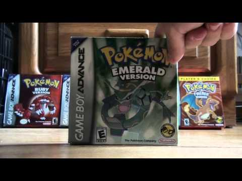 Gameboy Advance Pokemon Games Collection