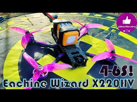 Фото ✔ Новый Народный Квадрокоптер - Eachine Wizard X220HV под 4-6S! Жарит Дико о_О