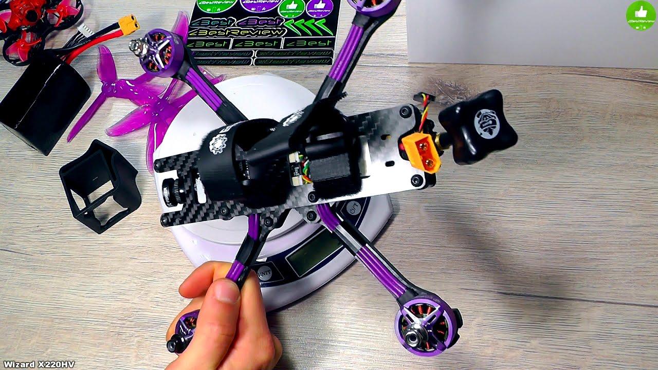 ✔ Новый Народный Квадрокоптер - Eachine Wizard X220HV под 4-6S! Жарит Дико о_О картинки