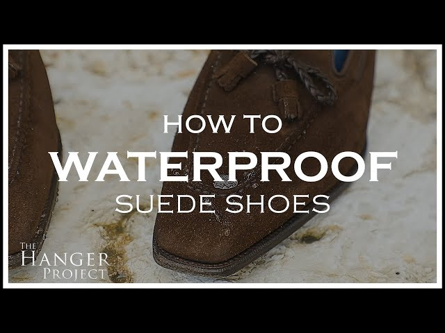 How To Waterproof Suede Shoes   Kirby