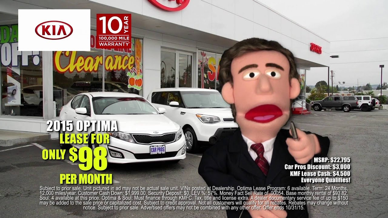 Car Pros Tacoma >> Car Pros Kia Of Tacoma Muppet Optima Soul Specials Youtube