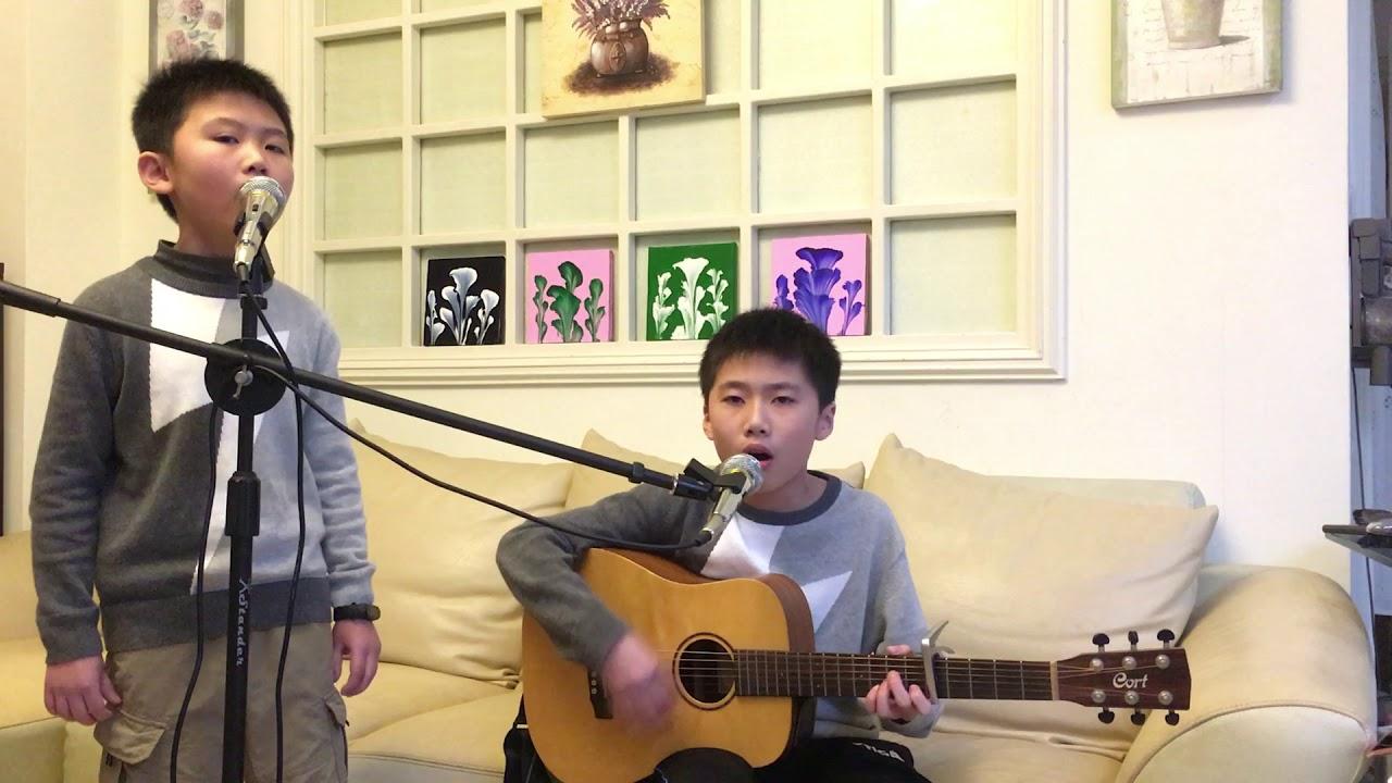 組曲(漂向北方+差不多的姑娘+中國痛+Despacito +夜空中最亮的星)(Cover by 大辰小樂)(吉他) - YouTube