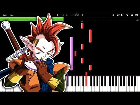 EASY! Tapion's Theme - Dragon Ball Z w/ Flute (Piano Tutorial) [Synthesia]