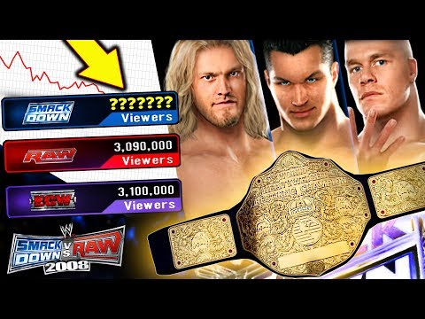 Let's Check RATINGS! Crowning First WWE World Champion!   WWE SvR 2008 GM Mode! Ep 2