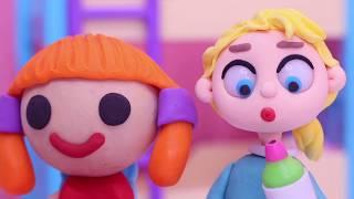 JUGANDO A LAS MUÑECAS Dibujos Animados para niños y bebés!!! 💚 dibusYmas