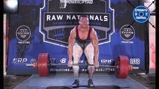 Ashton Rouska - 2nd Place 93 kg USAPL Raw Nationals 2018 - 832…