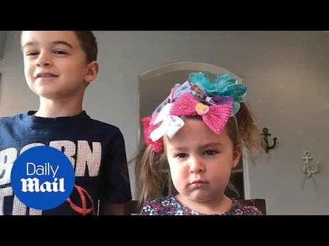 Hilarious Moment Big Brother Gives Sister A New Hairstyle Daily
