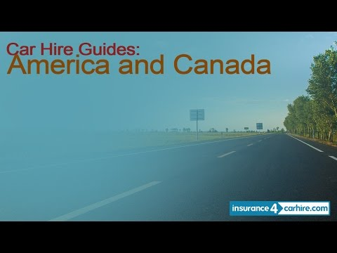 Car Hire Insurance for America and Canada