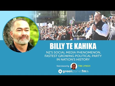 Billy Te Kahika: NZ's Social Media Phenomenon, Fastest Growing Political Party in NZ's History