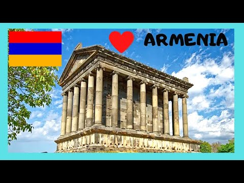 ARMENIA: The magnificent classic and historic GRECO-ROMAN GARNI TEMPLE