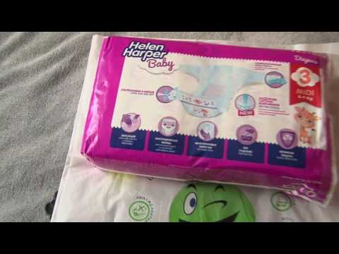 Rozetka.ua   Обзор и видео Подгузники Helen Harper Baby New Midi 4-9 кг, 52  шт (5411416030676)  видеообзор. Продажа Подгузники Helen Harper Baby New  Midi ... 5399c5fcc83