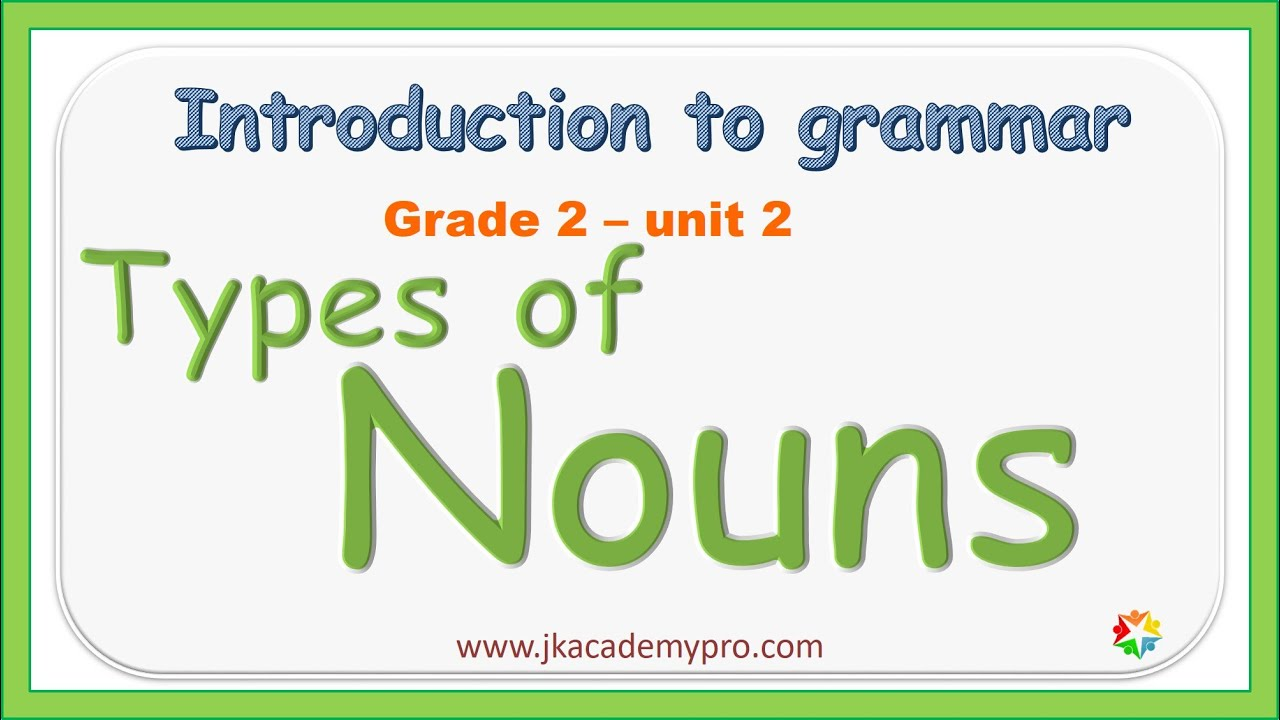 hight resolution of nouns   types of nouns   kinds of nouns   nouns for kids (grade 2