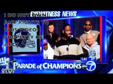 JUSTIN TUCK I Got A Ring We Got A Ring/Championship Speech @ In NYC Parade
