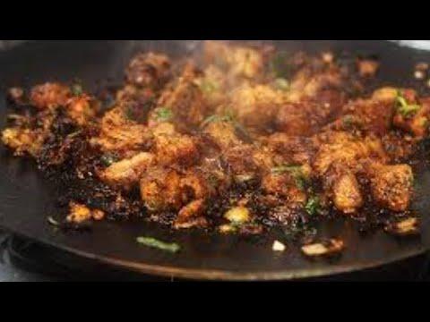 Lamb Brains Wood Fire Pakistan Village Food Style