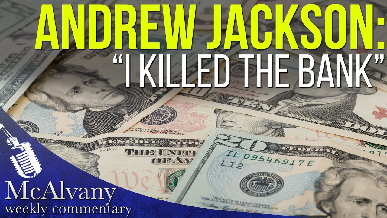 Andrew Jackson I Killed The Bank Obama Meets With Yellen