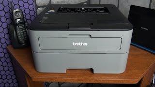 Brother HL-L2320D L2300D best budget laser printer review