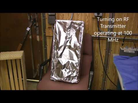 Faraday Cage - Chicken Wire vs Aluminum Foil