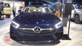 2019 Mercedes CLS 450 - Exterior And Interior Walkaroundd - 2018 LA Auto Show