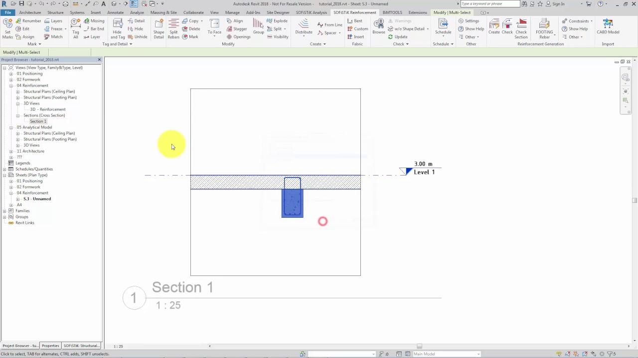 How To Make Beams Visible In Revit