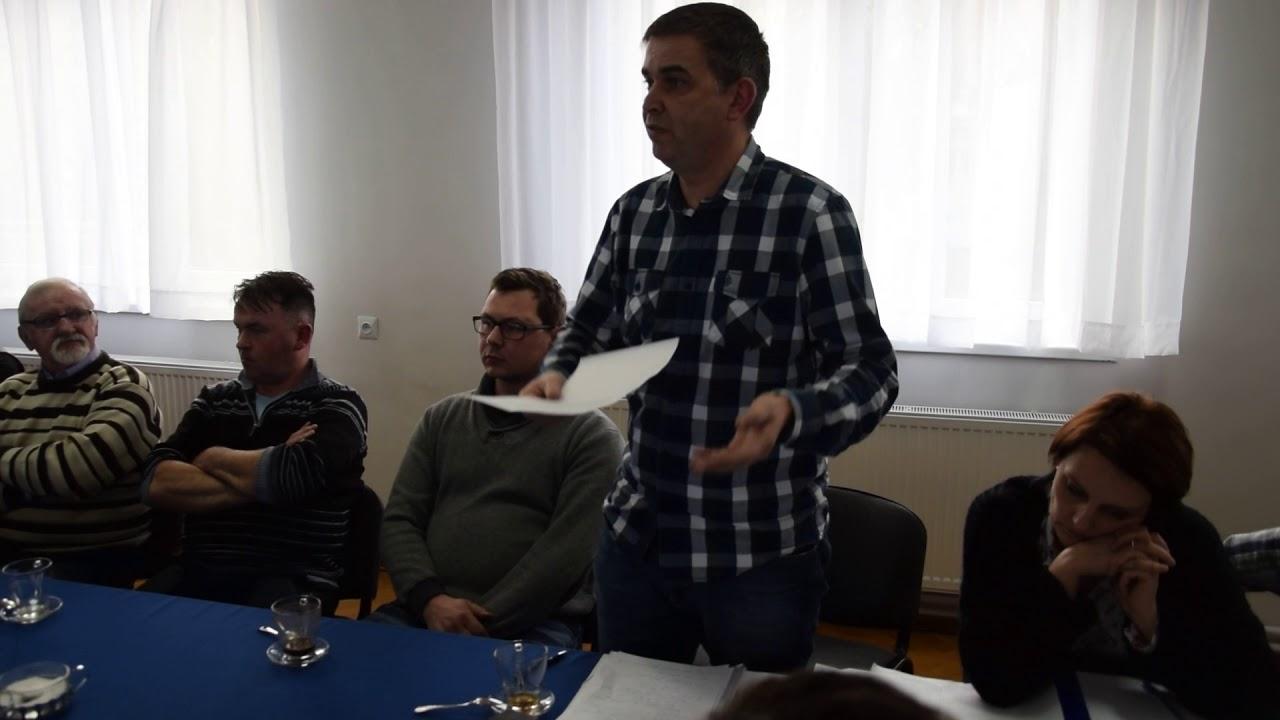 Spotkanie mieszkańców Sokolniki z radnymi w sprawie fermy drobiu