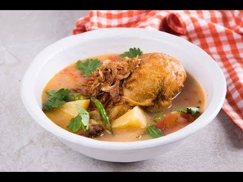 ต้มซุปไก่พริกไทยขาว Spicy Chicken Soup with White Pepper - วันที่ 05 Mar 2019