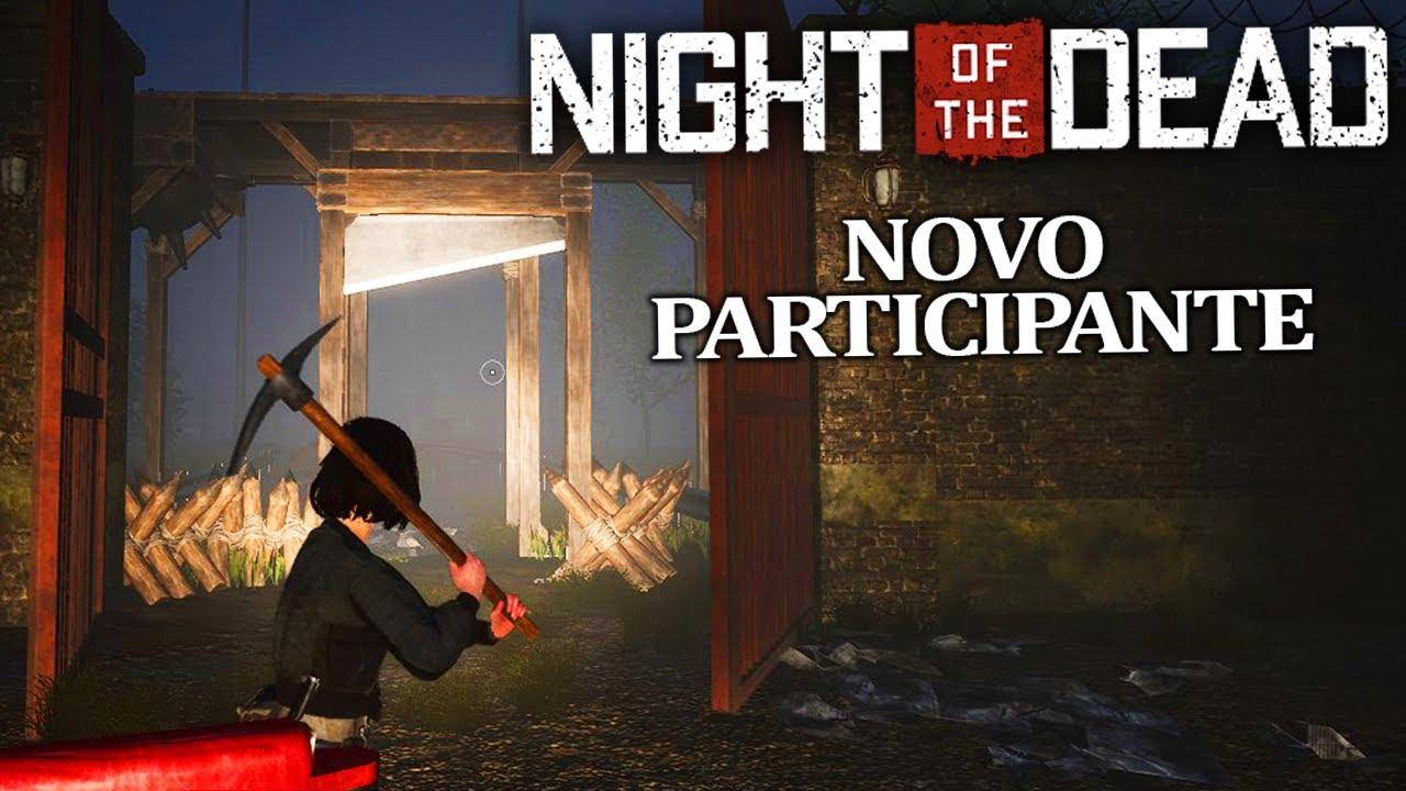 NIGHT OF THE DEAD #06 - TESTANDO NOVAS ARMADILHA COM NOVO SOBREVIVENTE | COOP em Português PT BR