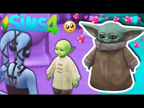 Baby Yoda Senpai - Sims4